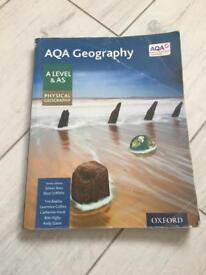 AQA GEOGRAPHY AS/A level physical