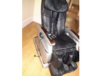 Massage chair in need to be used