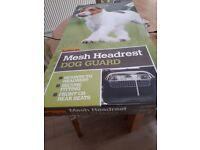 Halfords Mesh Headrest Dog Guard