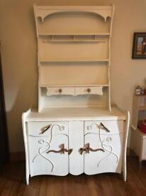 Wooden dresser/display cabinet