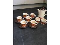 Retro Sadler Coffee Pot Set