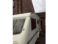 Elddis typhoon vogue, 4 berth, motor mover, everything included, no damp, great condition