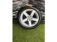 "16"" Genuine Audi A3 8V Alloy wheels 5 Spoke Alloys VW Golf"