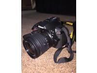 Nikon D5300 DSLR with 18-55mm Lens