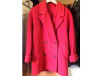 M & S ladies coat size 10