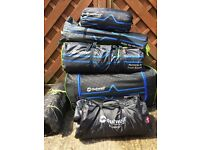 Outwell Montana 6 Persons Tent plus Front Awning, condition as new.