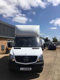 Mercedes long wheelbase Luton van
