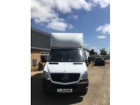 Mercedes long wheelbase Luton van