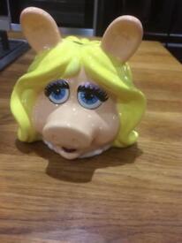 Miss Piggy money box