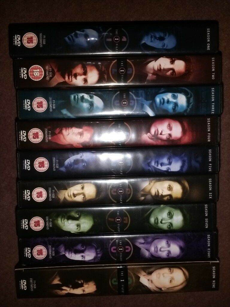 X-Files Complete Box Set Every Series 1-9