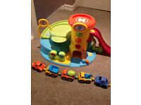 elc childs garage and 5 cars