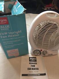 Brand new fan heater 2kW only £10