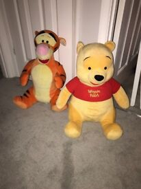Large Winnie the Pooh and Tigger