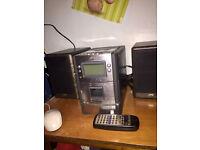 JVC audio/cd/cassette player