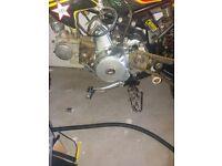 125cc lifian engine running