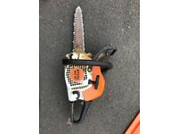 Stihl ms 181 with carving bar