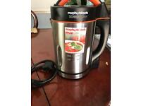 Morphy Richards Soup Maker used twice Rrp£70