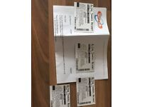 4 Alton towers tickets