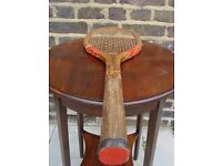 FREE DELIVERY Antique 1904 Tennis Racket
