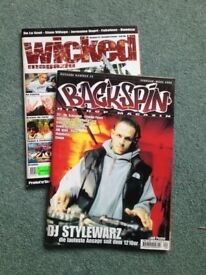 """""""Backspin"""" and """"Wicked"""" magazines - in German"""