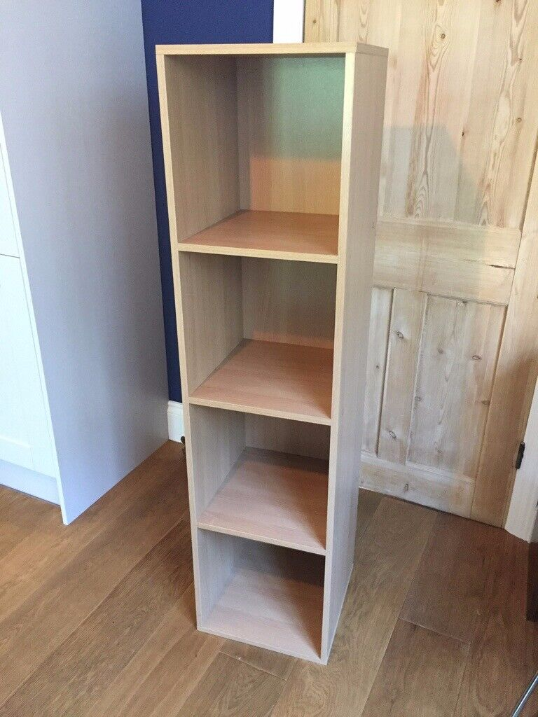 4 Cube Storage Unit Bookcase Oak Effect Sturdy Design In Ealing London Gumtree