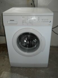 Siemens E14 - 16 Washing Machine 1400 spin 7kg load As new New bearing & door seal £125