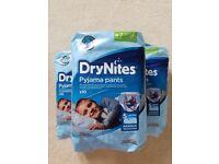 3 Packs of DryNites Pyjama Pants Age 4-7