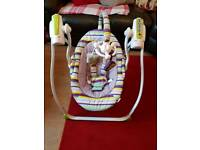 Babylo rock a bye baby swing for sale