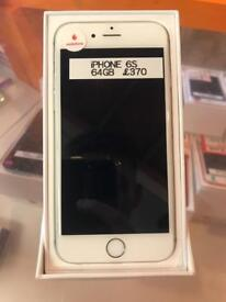 iPhone 6s, white and grey,64gb, Vodafone