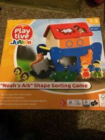 Noah's Ark Shape Sorting Game