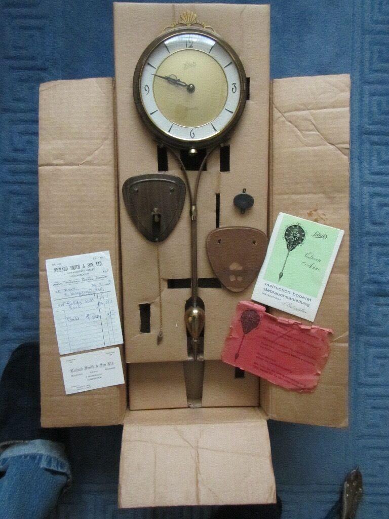 Wall Clock Schatz 1960's boxed