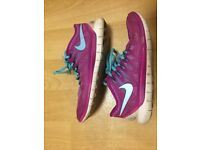Nike Free Trainers Size 8