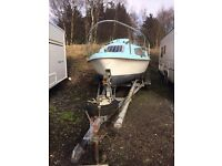 Skipper 17..... 17ft boat/yatch and galv trailer