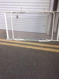 single steel bed frame