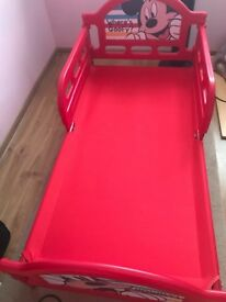 Toddler bed with mattress and duvet set- all for £30