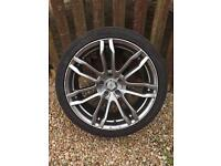 """18"""" AC Alloy Wheels 5X108 PCD FORD RENAULT VOLVO PEUGEOT ETC"""
