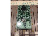 Fredric Effects Demon Fuzz Pedal