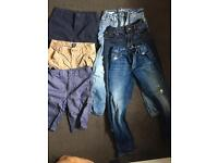 Boys age 8 gap jeans and shorts