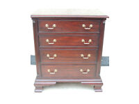 Chest of Drawers solid oak Mahogany finish (Delivery)