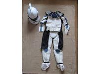 Star Wars Stormtrooper Voicechanger Helmet & Childrens Outfit