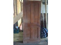 Hardwood Panelled Internal Doors x 8