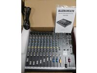 Allen & Heath ZED60-14FX mixing desk and USB Stereo Recorder