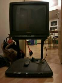 TV with support