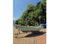 Drascombe Dabber sailing dinghy