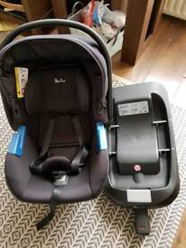 Silver Cross Simplicity Car Seat and Simplifix Base
