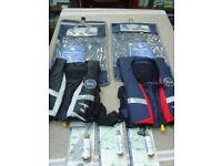 KRU Sport Pro 150 adult manual lifejackets
