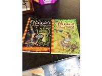 2hardvack Winnie the witch books