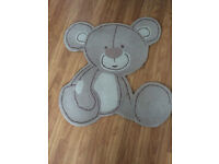 Next Nursery Bear Rug and Lampshade