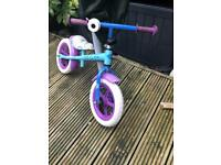 Girls Balance Bike Frozen