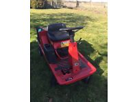 Lawnflite 404 sit down tractor mower - for repair or parts